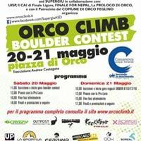 Orco Climb Boulder Contest 2017