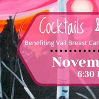 Cocktails&ampCanvas Benefiting Vail Breast Cancer Awareness Group