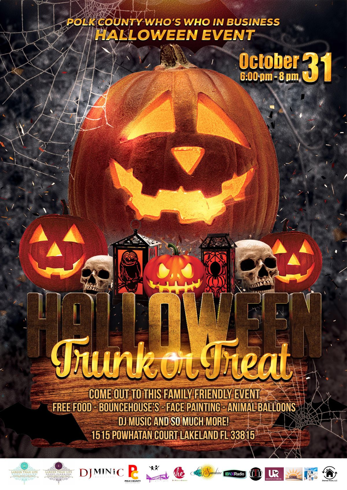 polk county halloween event trunk or treat ( free event) lakeland