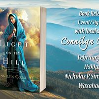 Book Release Event with Connilyn Cossette