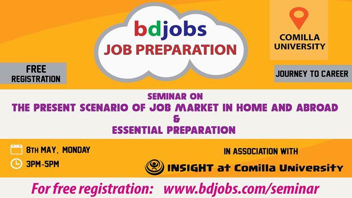 Bdjobs com Job Preparation at Comilla University, Comilla