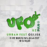 Warm Up Party za UFO wDJ BILKO