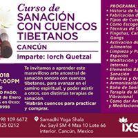 Curso Sanacin con Cuencos Tibetanos en Cancn