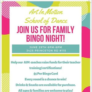 Bingo Night - AIM Coaches Fundraiser