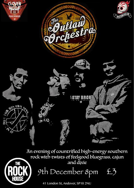 The Outlaw Orchestra at The Rockhouse Andover