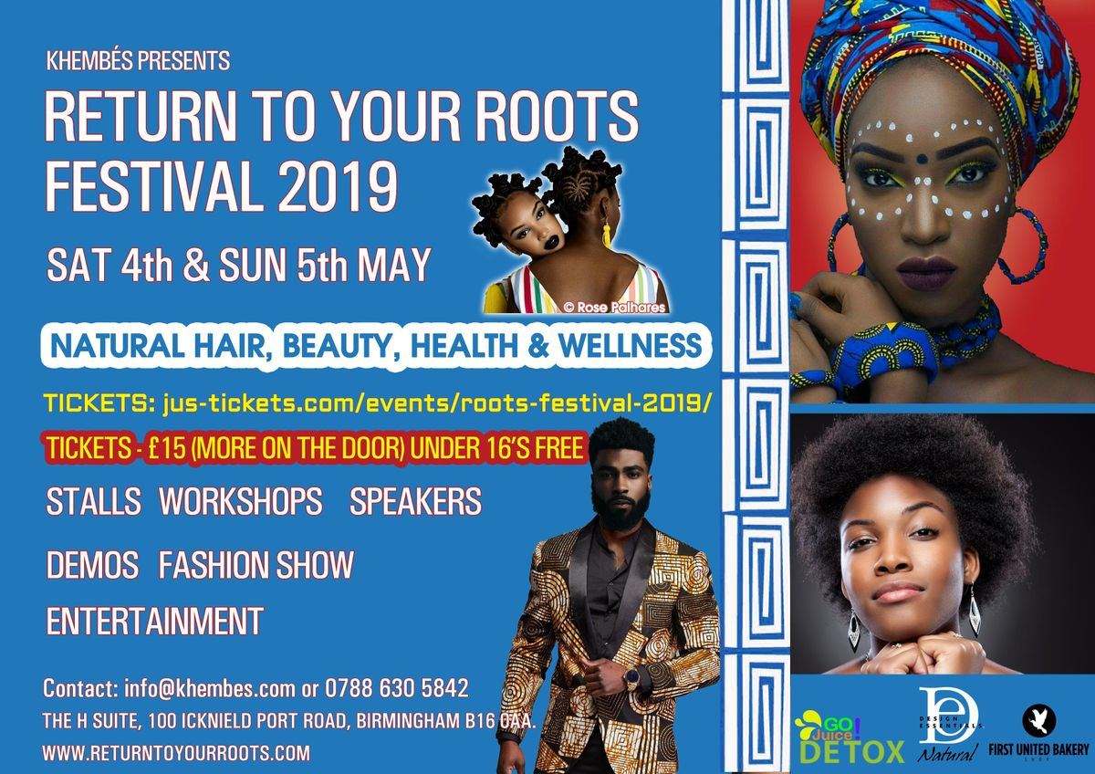 RETURN TO YOUR ROOTS FESTIVAL 2019 - HAIR BEAUTY HEALTH & WELLNESS