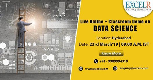 Live Online  Classroom Demo On Data Science