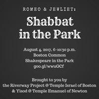 Romeo &amp Jewliet Shabbat in the Park