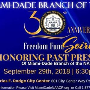 Miami-Dade NAACP Freedom Fund Soiree