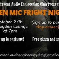 AEC Presents Open Mic Fright Night
