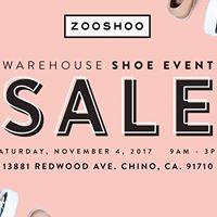 Zooshoo FALL Warehouse SALE