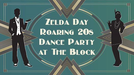 Zelda Day Roaring 20s Dance Party at The Block