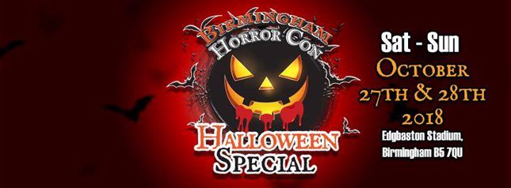 birmingham horror con halloween special at edgbaston cricket ground birmingham