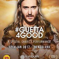Guetta 4 Good (A Special Charity Performance) Sunburn Festival - Bengaluru