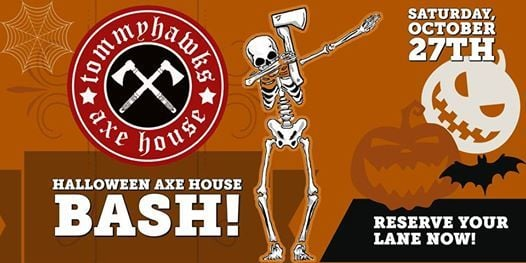 Image result for HALLOWEEN AXE HOUSE BASH