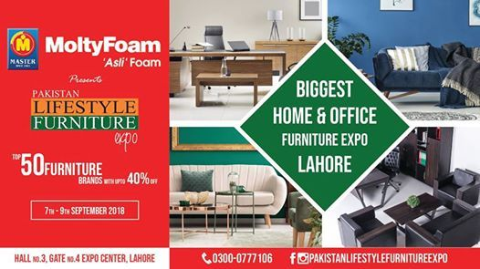 Pakistan Lifestyle Furniture Expo At Expo Centre Lahore