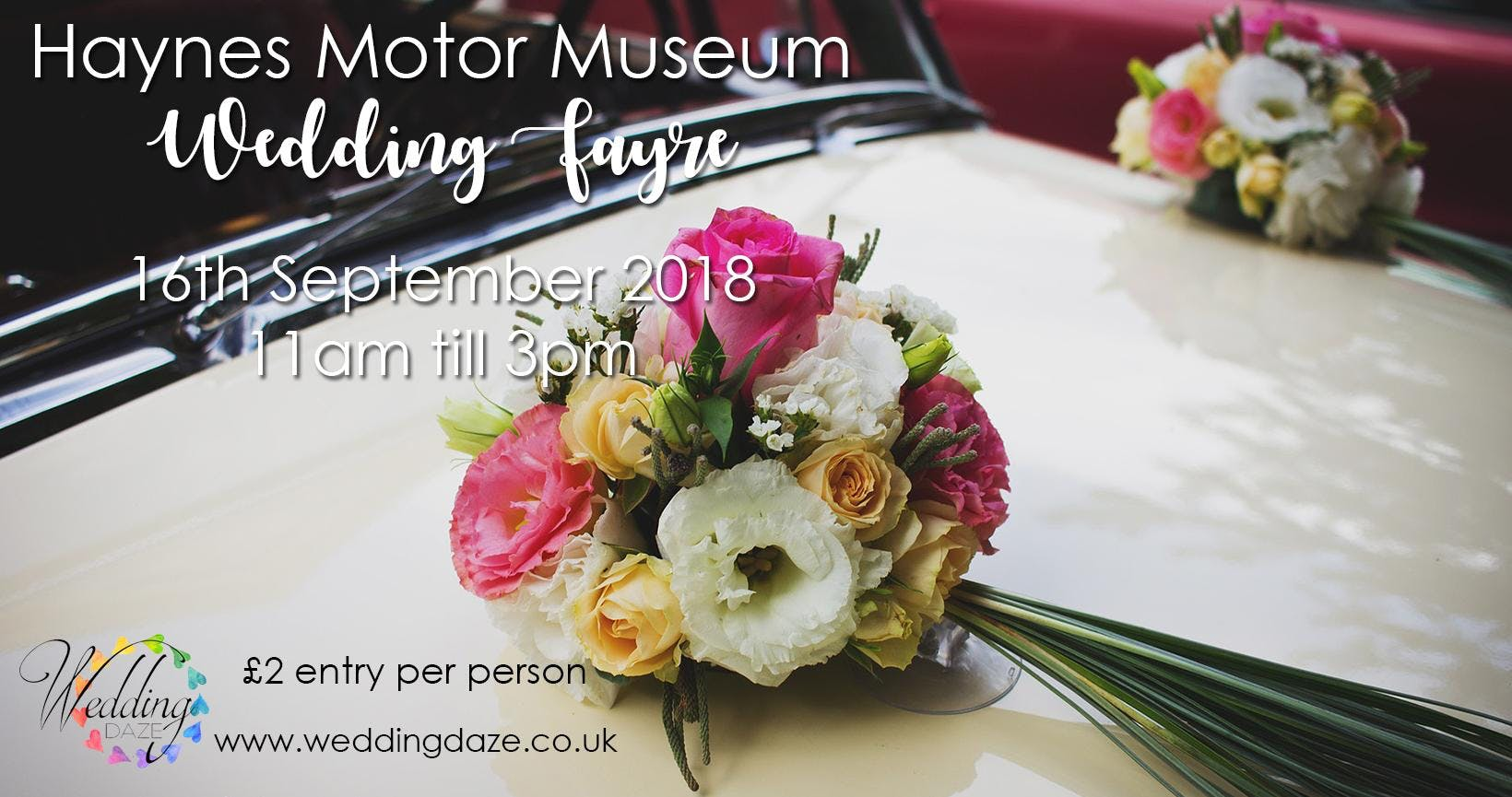 Haynes Motor Museum Wedding Exhibition 160918