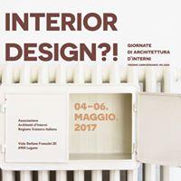 Interior Design Giornate di Architettura dInterni