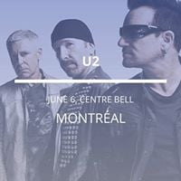 U2 in Montreal
