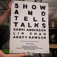 Show &amp Tell Talks Sandi Anderson Lin Chau Abbey Rawson