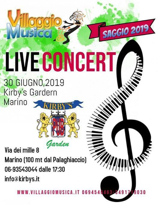 Saggio 2019 - Live Concert at Kirbys Garden