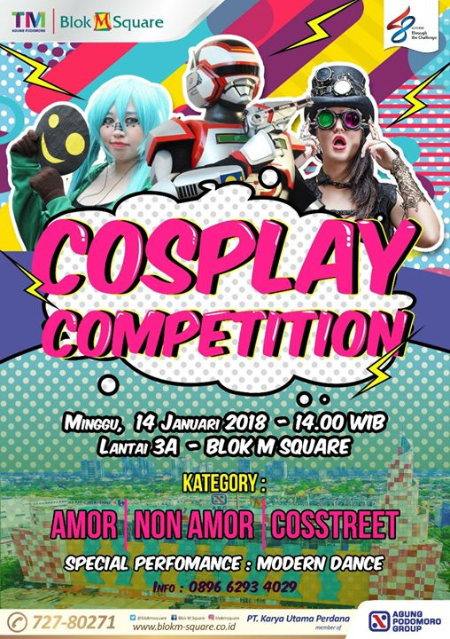 Imagination Of New Year Cosplay Competition