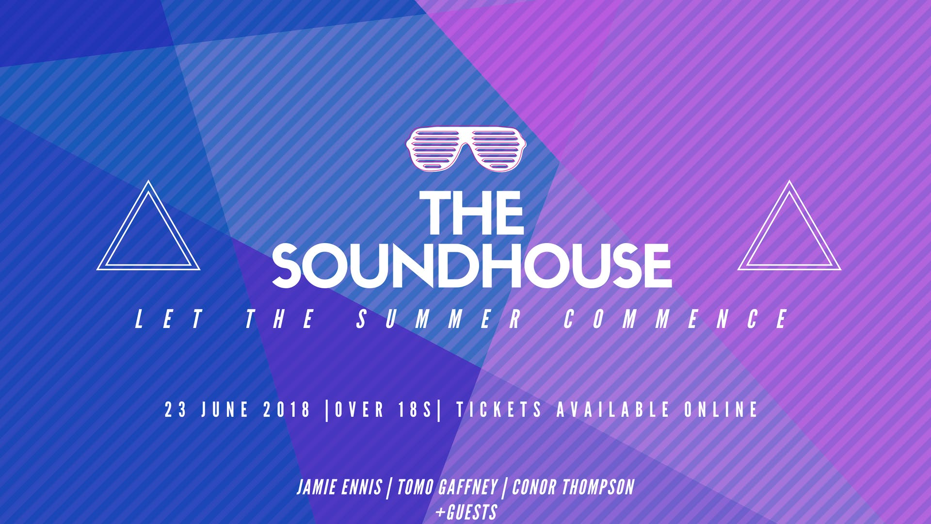 The Soundhouse - June 23rd