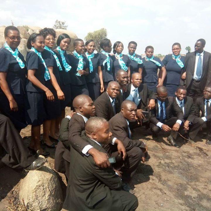 Singing at Rugare SDA Church