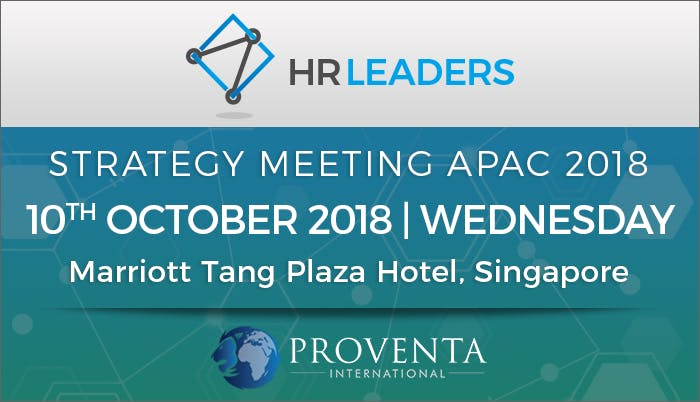 HR Leaders Strategy Meeting APAC 2018