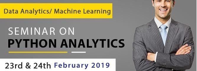 Seminar On Python Analytics (Data Analytics Machine Learning)