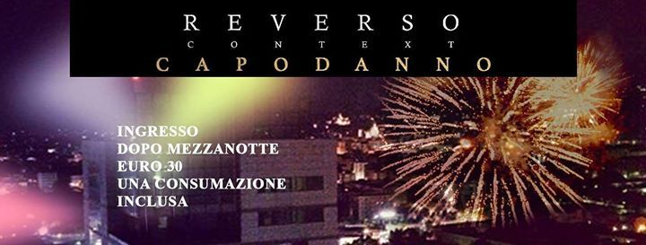 31 12 2018 Capodanno Reverso At Terrazza Reversovia Flero