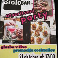 Brolo bar otvoritveni party (21.10.)