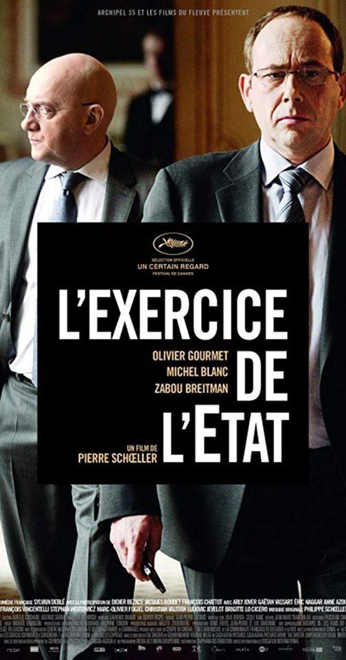 Cine-Club en la Alianza Francesa. Pelcula Lexercice de ltat