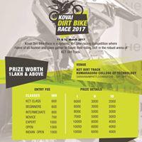 Kovai Dirt Bike Race 2017