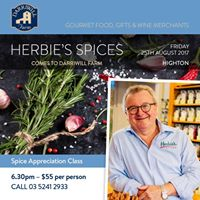 Herbies Spices Comes to Darriwill Farm Highton