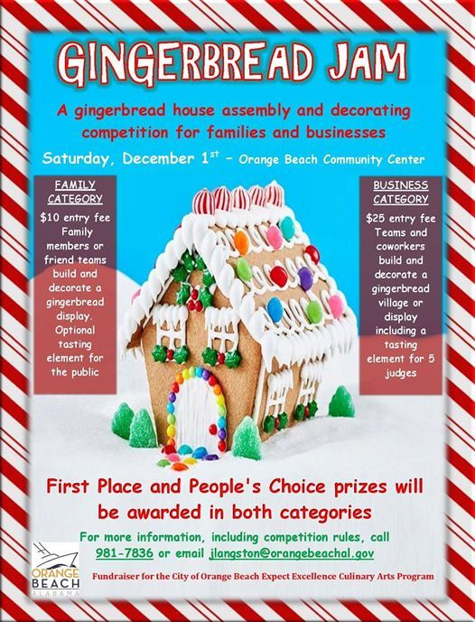 gingerbread jam a gingerbread assembly decorating competition at