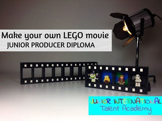 make your own lego movie junior producer diploma at omega house