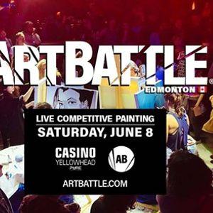 Art Battle Edmonton - June 8 2019