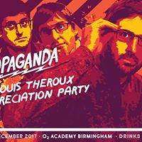 Propaganda - Louis Theroux appreciation party 4 guest list