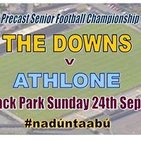 Senior Football Quarter Final v Athlone