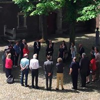 Opening Openlucht lokaal