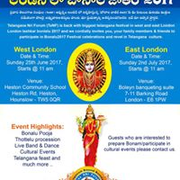 West London Bonalu 2017