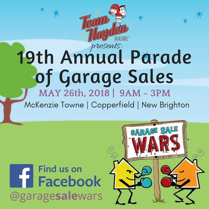 19th Annual Parade of Garage Sales