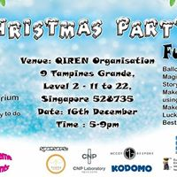 Christmas Party on 16th Dec