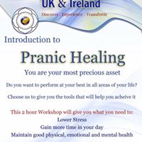 Pranic Healing - Introduction Workshop with David Connell