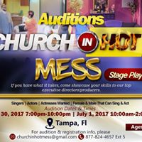 Stage Play Auditions- Singers Actors &amp Actresses Wanted