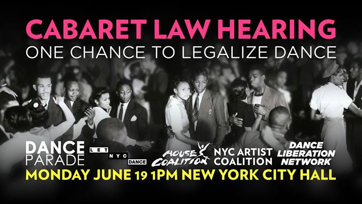 Cabaret Law Hearing One Chance to Legalize Dance