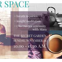 Inner Space (fully booked)