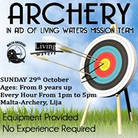 Archery in Aid of Living Waters Mission Team