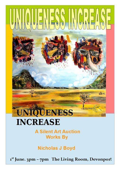 Uniqueness Increase - A Silent Auction by Nicholas J Boyd